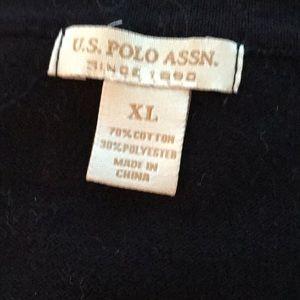 New men's black sweater xl